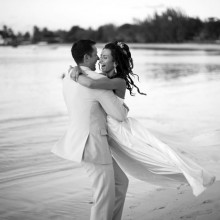 Jadric and Marjana - By the beach