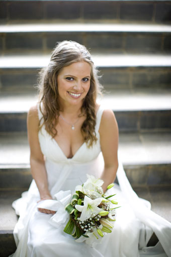 Portrait of Kathrin the bride by Tristan Chailet